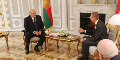 Lukashenko: Belarus wants to deepen economic ties with Latvia