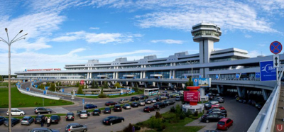 Number of visa-free tourists in Belarus via Minsk National Airport at 244,000