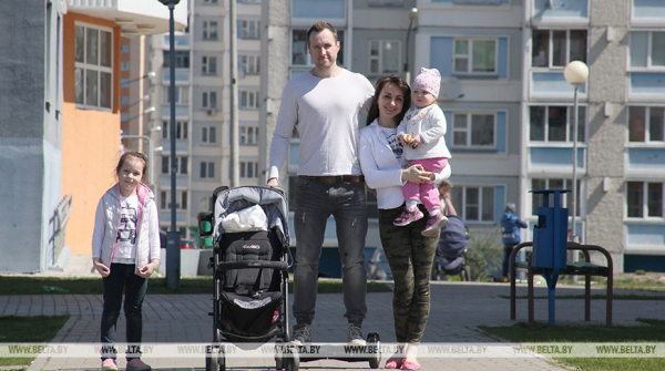 Family benefits spending amounts to 3.4% of Belarus' GDP