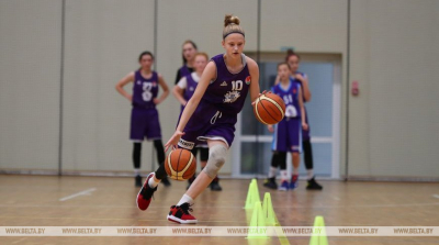 U13 basketball training camp in Minsk