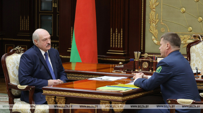 Lukashenko, Senko discuss customs affairs