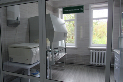 In Molodechno, a laboratory for testing on COVID-19 was opened