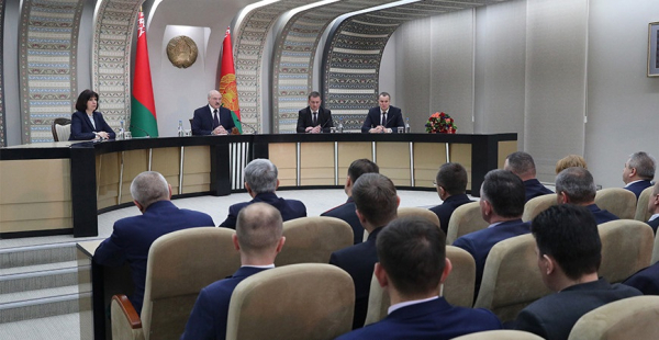 "A.Lukashenko: it is necessary to evenly develop Minsk Oblast, and not just the ""golden lands"" between the ring roads"